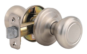 Kwikset 720CN Signature Series Cameron Passage Door Knobset - Satin Nickel