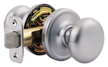 Kwikset 720H Signature Series Hancock Passage Door Knob - Satin Chrome