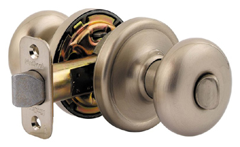Kwikset 730H Signature Series Hancock Privacy Door Knob - Satin Nickel