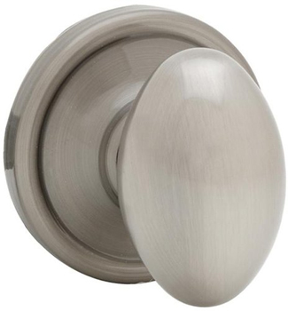 Kwikset 740L-S Laurel Keyed Entry Single Cylinder Door Knob with SmartKey - Antique Nickel