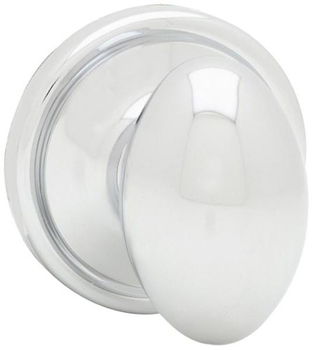 Kwikset 788L Signature Series Laurel Single Dummy Door Knob - Polished Chrome