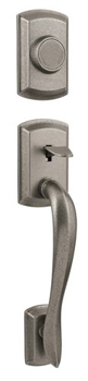 Kwikset 802AVH-LIP Signature Series Avalon Dummy Handleset - Rustic Pewter