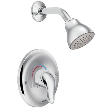 Moen L2352 Chateau Posi-Temp Single Handle Shower - Chrome