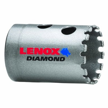 Lenox 1211722DGHS 1-3/8-Inch or 34.5mm 22 Diamond Grit Hole Saw