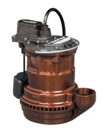Liberty Pumps 241 1/4 hp Cast Iron Submersible Sump Pump