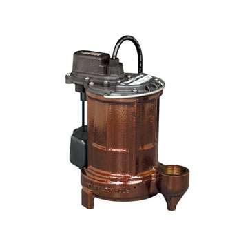 Liberty Pumps 250 1/3 hp Cast Iron Submersible Sump/Effluent