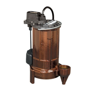 Liberty Pumps 287 VMF 1/2 hp Submersible Effluent/Sump Pump
