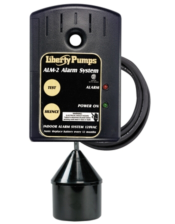 Liberty Pumps ALM-2 Indoor High Liquid Level Alarm