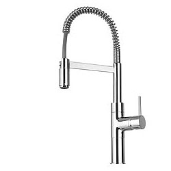 La Toscana 78CR556LFE Elba Single Handle Kitchen Faucet Chrome