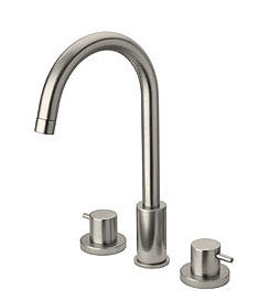 La Toscana 78CR214LFEX Elba Two Handle Widespread Lavatory Faucet Chrome