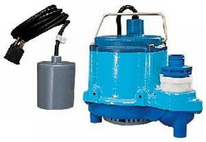 Little Giant 6-CIA-RFS 1/3 HP, 115V - Automatic Submersible Sump Pump w/ Remote Float Switch, 10' Power Cord (506171)