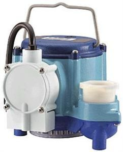 Little Giant 6-CIM 1/3 HP, 230V - Manual Submersible Sump Pump, 12' Power Cord (506266)