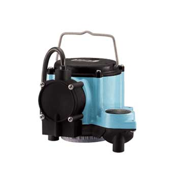 Little Giant  6-CIA, 1/3 HP, 115V - Automatic Submersible Sump Pump, 10' Power Cord (506158)