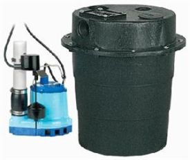 Little Giant WRS-8E, 1/3 HP, 52 GPM - Drainosaur II Waste Water Removal System, 10 ft Power Cord (509150)