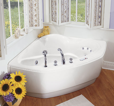 MAAX 101026-050 Opera Whirlpool Bath Tub - White