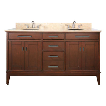 Avanity MADISON-V60-TO Madison 60 inch  Vanity - Tobacco