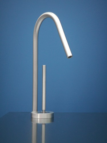 MGS Designs WF-P Water Filter Kitchen Faucet Polished Stainless Steel
