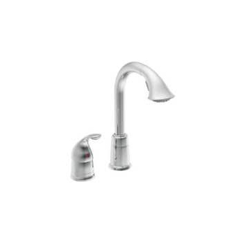 Moen 5955CSL Single Handle High Arc Pulldown Bar Faucet - Stainless Steel