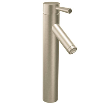 Moen 6111BN Level Single Handle Vessel Lavatory Faucet - Brushed Nickel