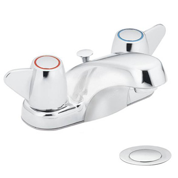 Cleveland Faucet Group CA40210 Cornerstone Chrome Two-Handle Bathroom Faucet - Chrome