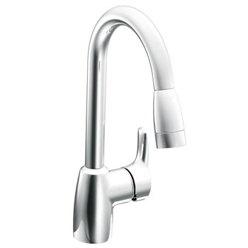 Cleveland Faucet Group Ca42519 Baystone One Handle Pullout