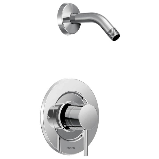 Moen T2192NH Single Handle Posi-Temp Pressure Balanced Shower Trim without Shower Head from the Align Collection (Less Valve) - Chrome