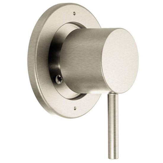 Moen T4191BN 3-Function Diverter Valve Trim from the Align Collection (Less Valve) - Brushed Nickel