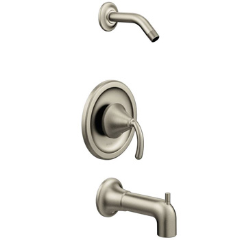 Moen TS2143NHBN Single Handle Tub and Shower Trim - Brushed Nickel