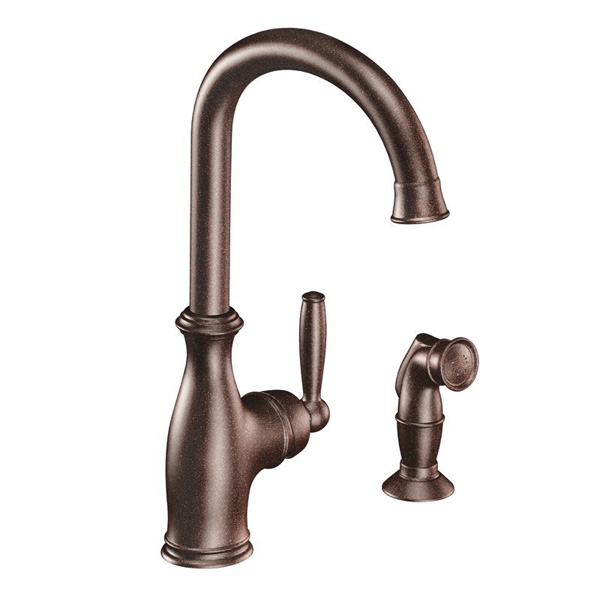 Moen 7735 Brantford Single Handle Kitchen Faucet - Oil Rubbed Bronze