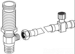 Moen 103469 M Pact Supply Hose Kit Faucetdepot Com