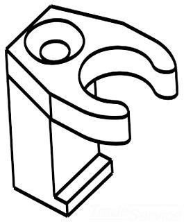 Moen 104225 M Pact Lift Rod Guide 138344