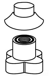 Moen 104235orb Hose Guide Oil Rubbed Bronze