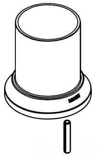Moen 116633bn Roman Tub Spout Escutcheon Kit Brushed