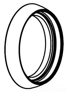 Moen 129102BN Large Volume Control Escutcheon Ring - Brushed Nickel
