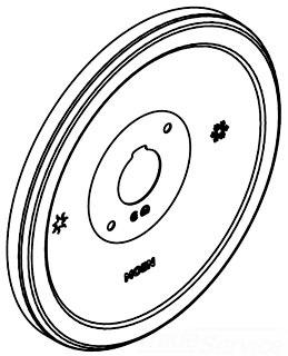 Moen 135153bn Icon Single Handle Tub Shower Escutcheon