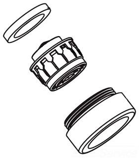 Moen Faucet Aerator Assembly Diagram Faucet Design