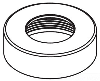 Moen 137523 Spout Retaining Nut Kit Chrome Faucetdepot Com