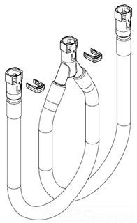 Moen 140713 Quick Connect Hose Kit Faucetdepot Com