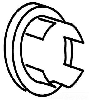 Moen 1512 Plug Button - Chrome