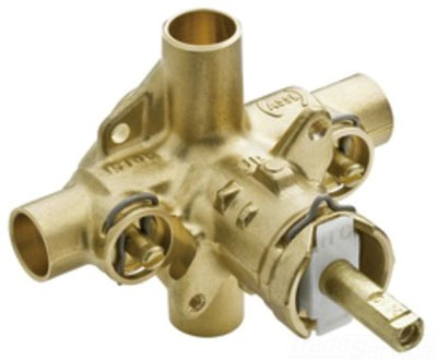 Moen 62370 Chateau Posi Temp Pressure Balancing Rough-in Valve with Stops