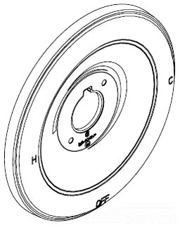 Moen 97491 Monticello PosiTemp Single Handle Tub/Shower Escutcheon   Chrome