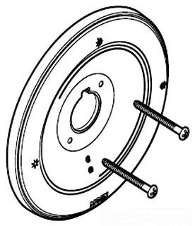 Superieur Moen 97492 Monticello PosiTemp Single Handle Tub/Shower Escutcheon    Polished Brass