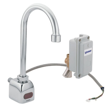 Moen CA8304 Commercial 0.5 Gpm Sensor Operated Electronic Lavatory High Arc Faucet - Chrome