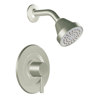 Moen T2702EPBN Level PosiTemp Single Handle Shower Trim Only - Brushed Nickel