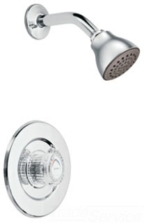 Moen T473 Chateau Single Handle Shower Trim Only - Chrome