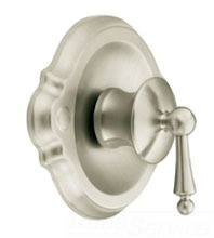 Moen TS310BN Waterhill PosiTemp Shower Valve Trim Only - Brushed Nickel
