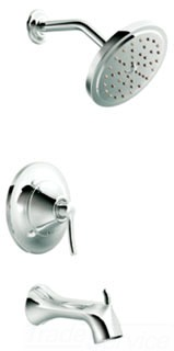 Moen TS31704 Fina PosiTemp Tub/Shower Trim - Chrome