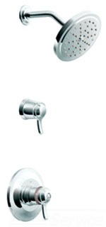 Moen TS31712 Fina ExactTemp Shower Trim Only - Chrome