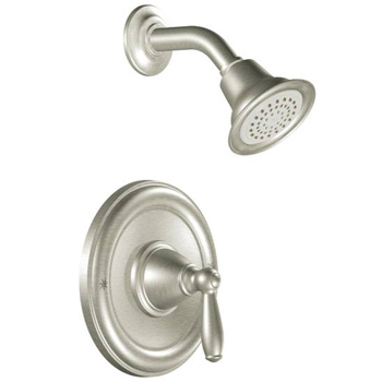 Moen MOT2152EPBN Brantford Posi-Temp(R) Single Handle Shower Trim - Brushed Nickel