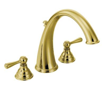 Moen T920P Kingsley Roman Tub Trim Kit - Polished Brass